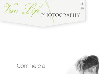 VueLife Photography - Home Page Concept